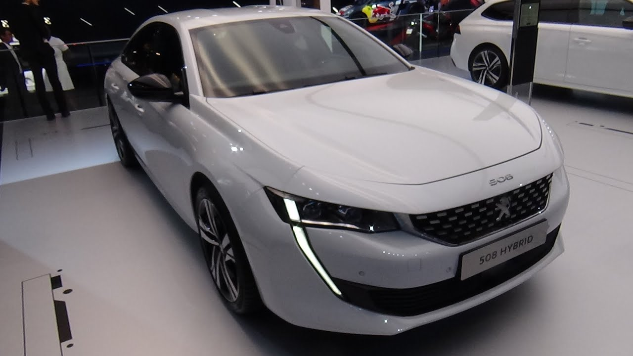 2019 Peugeot 508 Hybrid Exterior And Interior Paris Auto Show