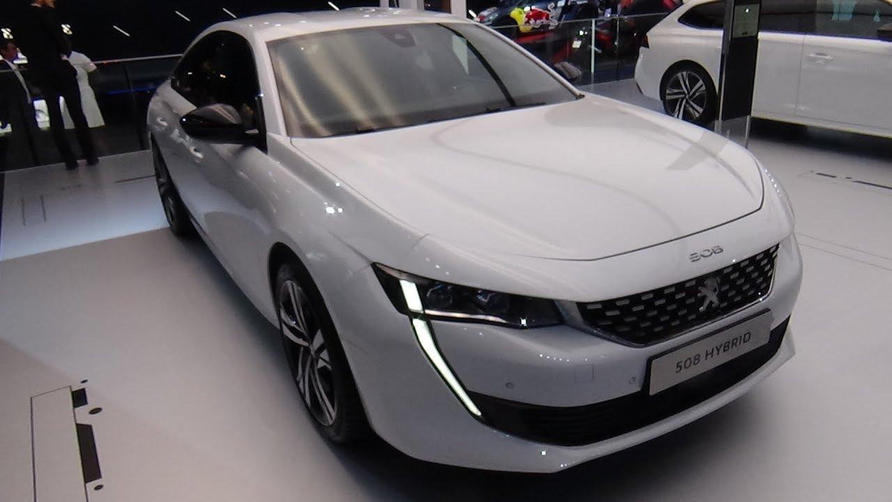 2019 Peugeot 508 Hybrid Exterior And Interior Paris Auto Show