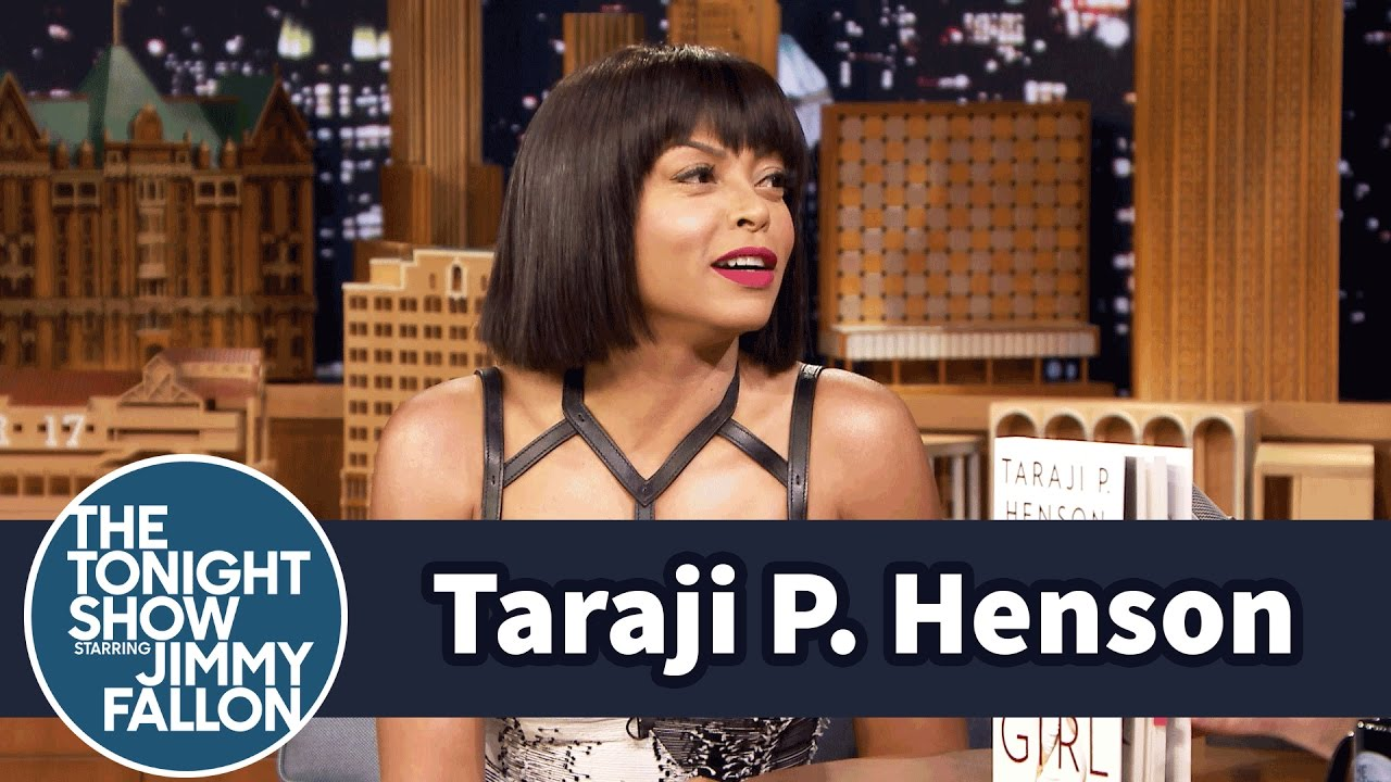 Image result for taraji p henson jimmy fallon