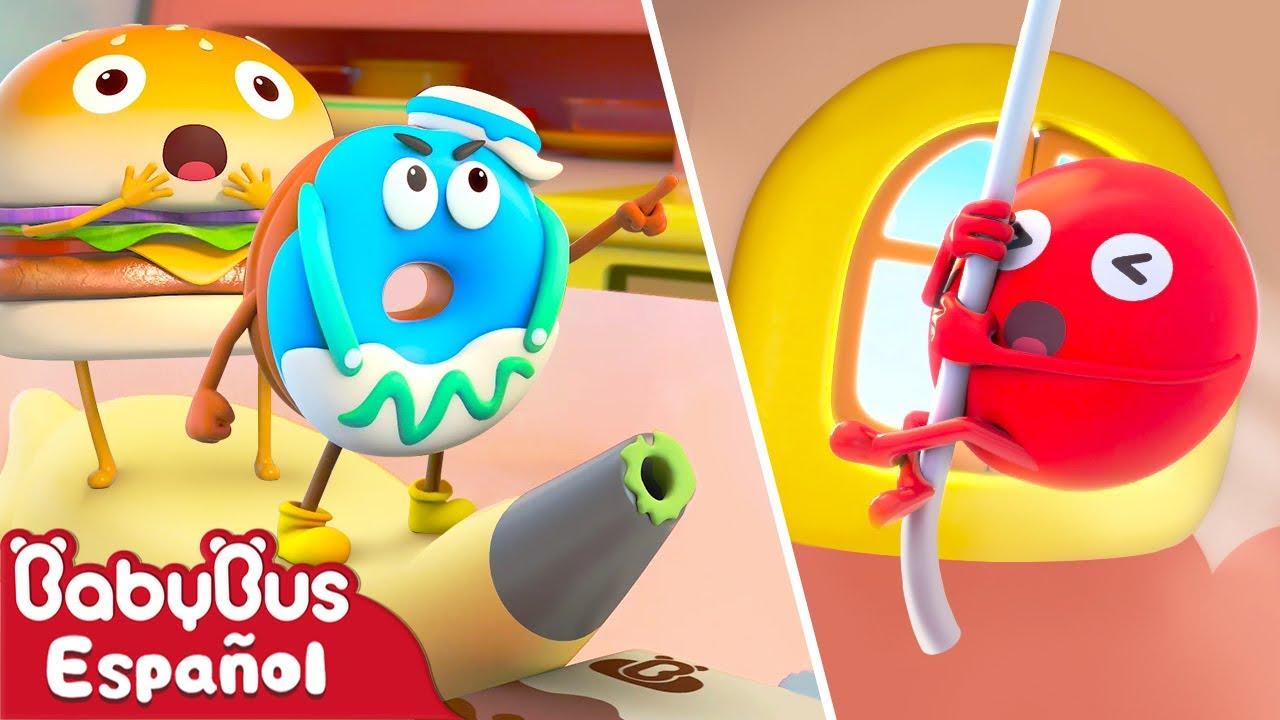 Somos Mejores Amigos | [NUEVO] Animación de Comidas Ep.1 | Dibujos Animados | BabyBus Español