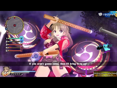 Senran Kagura: Estival Versus (PS4) Multiplayer - Queen Of The Hills