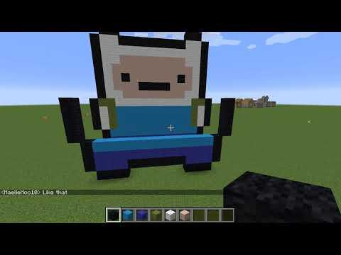 Finn (Adventure Time) Pixel Art!