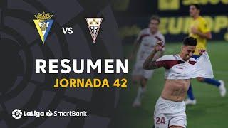 Resumen de Cádiz CF vs Albacete BP (0-1)