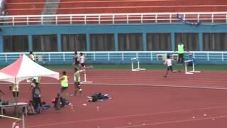105大錦賽400公尺跨欄決賽 台灣大學吳易穎