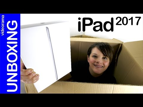 2017 Apple iPad unboxing and first impressions