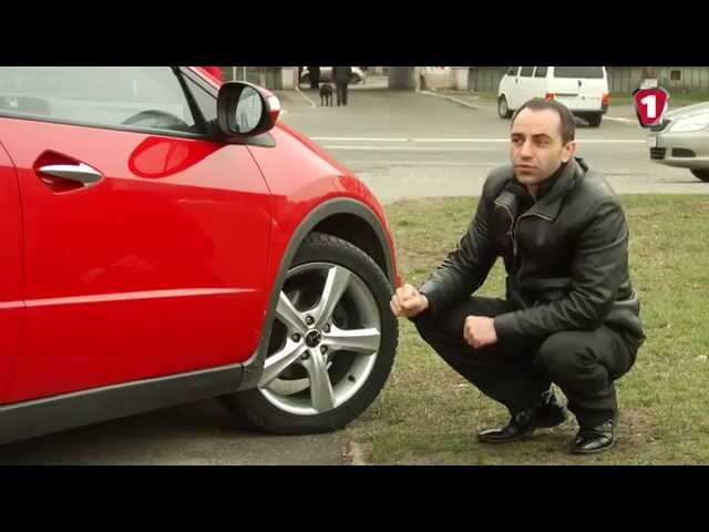 Тест-драйв Honda Civic. АвтоцентрТВ #22.