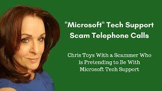 Microsoft Tech Support Scam - Beware!!