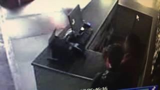 Mirá el video del robo a comercio del centro