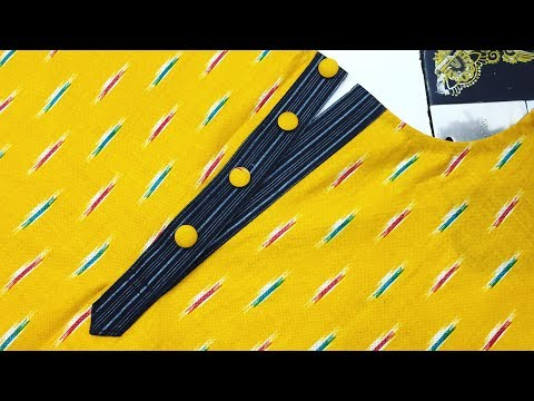 How To Make Perfect Placket Easy Method
