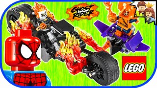 LEGO Spider-Man Ghost Rider Team Up 76058 Build & Review