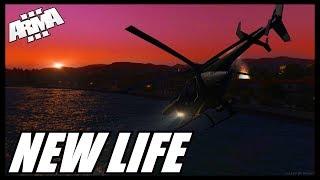 Arma 3 Life: Сервер New Life! Первый Взгляд #1