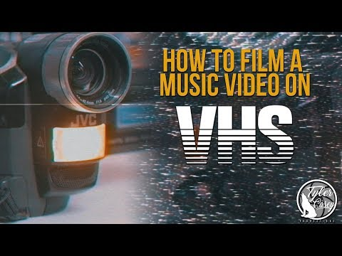 How to Film a Music Video on VHS- Best VHS Effect (No Plugins)