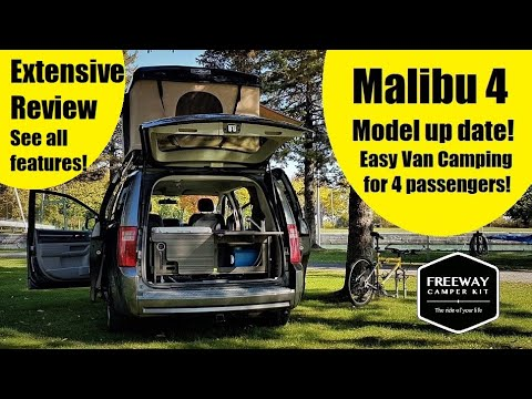 DIY Camper Van Conversion Kit, The Updated Malibu 4 From Freeway Camper Kit!