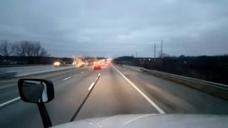 Bigrigtravels Live! - Springfield, Ohio to Walton, Kentucky - Interstate 75 - January 26, 2017