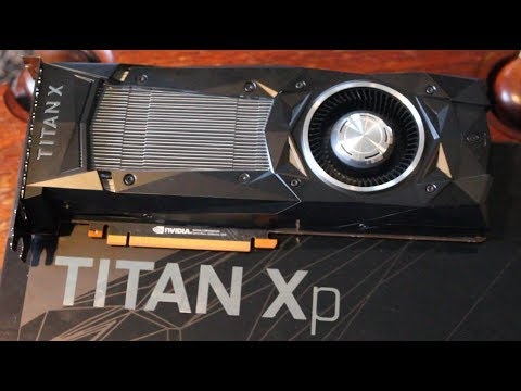 Nvidia Titan Xp (2017) Unboxing & Overview - Dumbest Name Ever