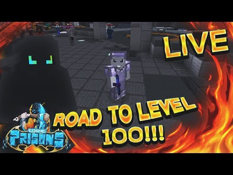 [LIVE] COSMIC PRISONS - CHILLING AND ALMOST LEVEL 95!!! (ULU PLANET)!!!