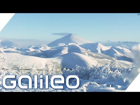 Leben extrem am kältesten Ort der Welt | Galileo | ProSieben