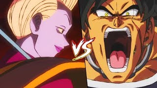 Whis Vs Broly In Dragon Ball Super Broly