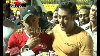 Salman Khan,Tiger Shroff, Aamir, Hrithik, Imraan & Others at Charity Celebrity Football Match-4