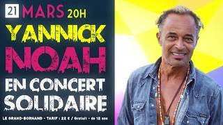 Teaser Concert Yannick Noah Glisse en Cœur 2020
