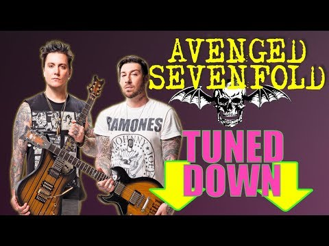 What If Avenged Sevenfold Tuned Down?! A7X Riffs Played On A Seven String Guitar Metal Cover