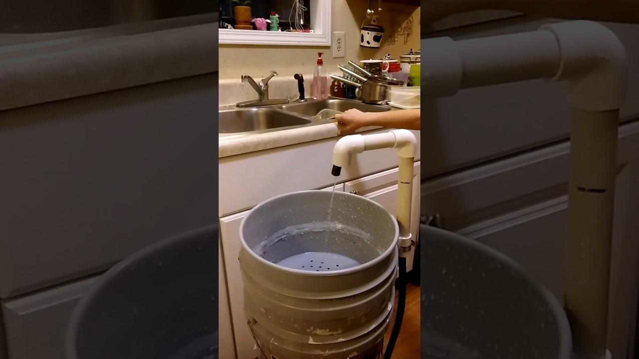 My DIY 5 Gallon Bucket Sink