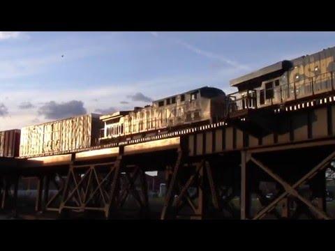 Train action around Cincinnati, OH