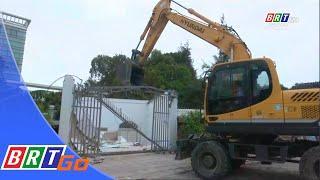 Cưỡng chế công trình xây dựng trên đất nhà nước tại phường 8, TP. Vũng Tàu | BRTgo