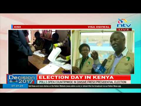 Africa Union observer mission leader, Thabo Mbeki comments on ongoing election #Decision2017