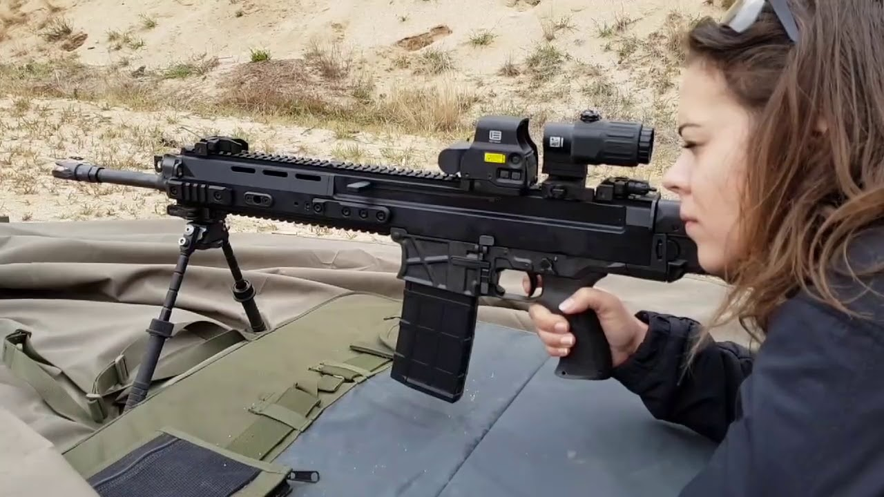 The new Bren 2 rifle chambered in 308