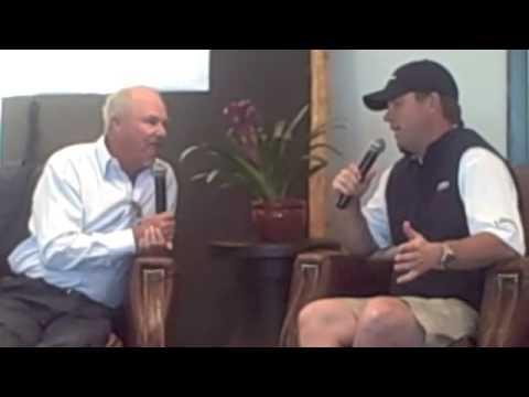 CBS Golf Analyst Gary McCord interviews 2008 Frys.com Open champion: Cameron Beckman