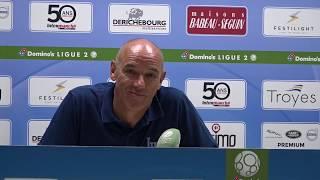 Après Troyes - HAC (1-3), réaction de Paul Le Guen