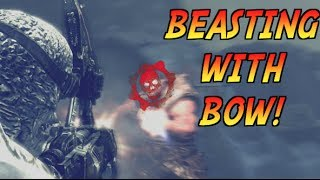 GOW1 | BEASTING WITH BOW ON PROCESS!