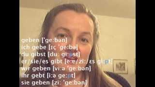 Pronunciation German b - Learn German easily