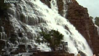 Adheko Ghume - Rabindra Sangeet - Tirathgarh Waterfall - Shaan - Bhaskar.mpg