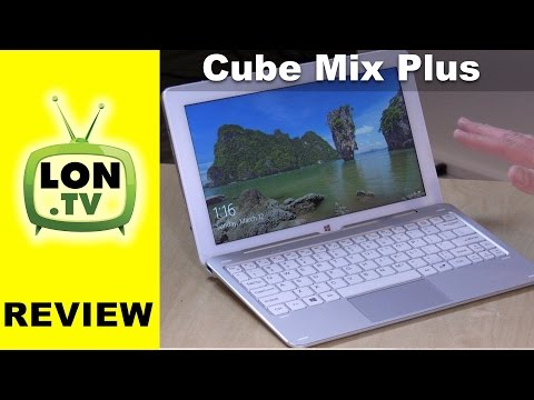 Cube Mix Plus 2 in 1 Tablet PC Review - Affordable Core M3 Intel Kaby Lake Processor