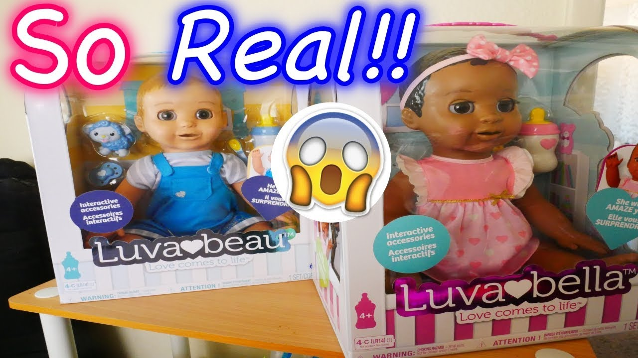 Luvabella Baby Doll Opening Real Life Baby Robot Doll