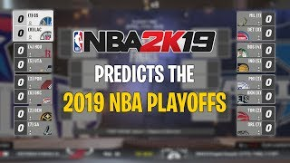 Download NBA 2K19 Predicts The 2019 NBA Playoffs! Mp3 and Videos