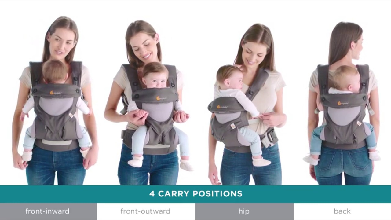3398fc581ed Which Ergobaby Baby Carrier is Right for You  - YouTube