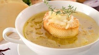 Первые блюда. Луковый суп.