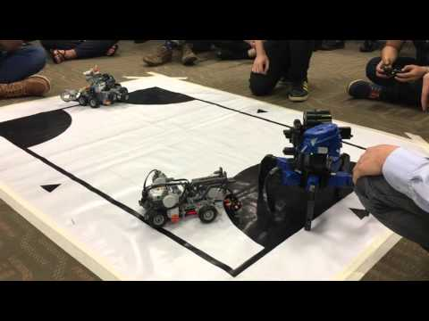 University of Glasgow - Singapore Institute of Technology Robotics Competition 2016