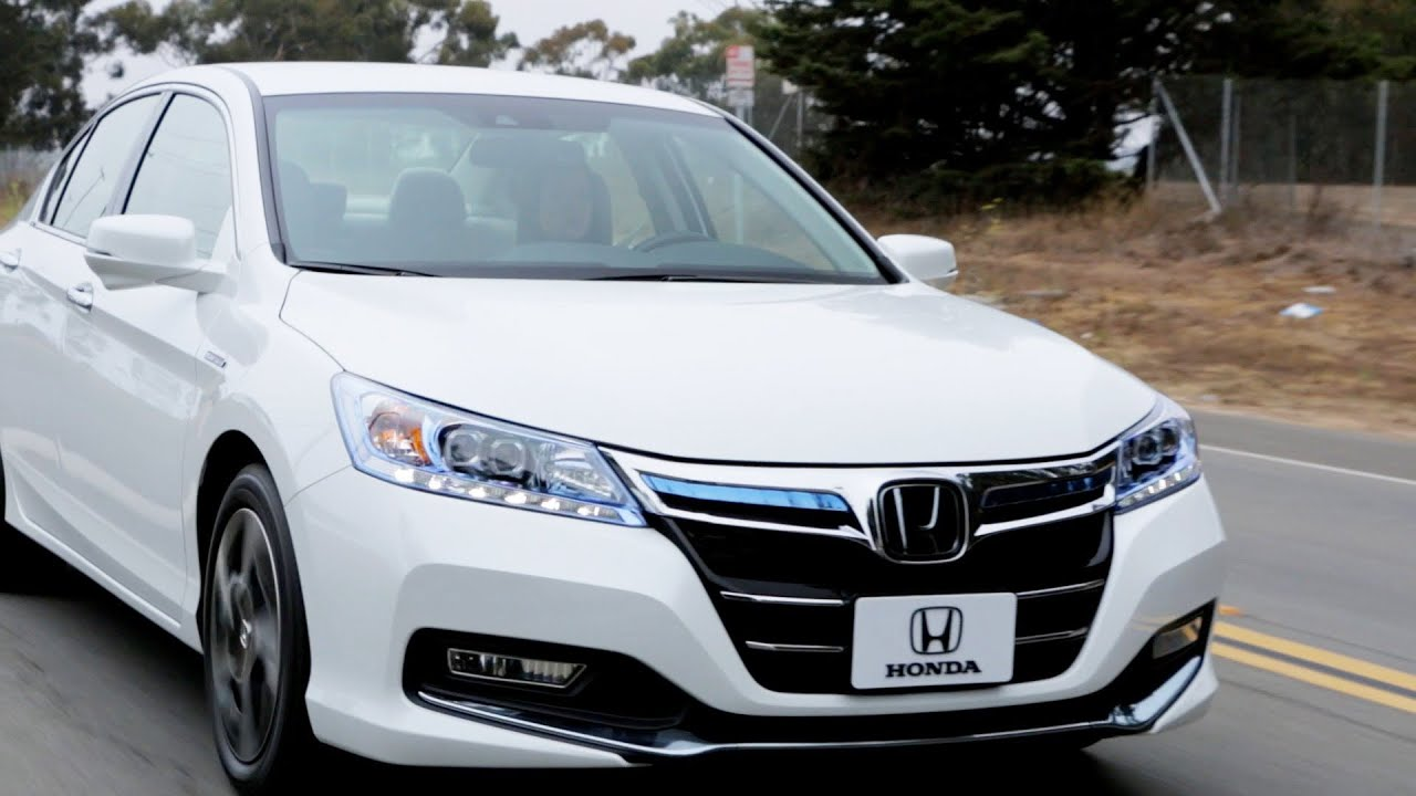 Honda Accord Plug In Hybrid Sedan (2014)   YouTube