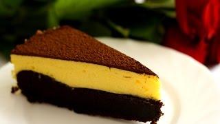 Вкуснейший трюфельный торт с белым муссом