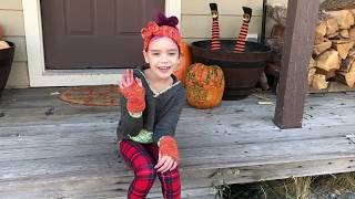 Easy Knit Fingerless Gloves & Headband for Kids