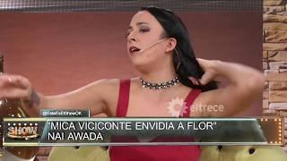 Flor Vigna le da clases a Nai Awada de cómo hacer juntadas