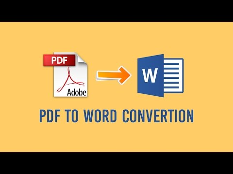 How to convert PDF to Word 2016 tutorial from YouTube · High Definition · Duration:  2 minutes 15 seconds  · 37,000+ views · uploaded on 10/8/2015 · uploaded by Octopus Technology