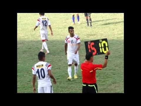 Gurkha Cup 2013   Three Star Club Vs Jawalakhel Youth Club Complete Match Highlights By GoalNepal co