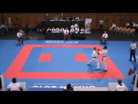 Jessie DA COSTA - Championnat Monde Universitaire - Braga 2016