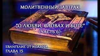 Евангелие от Иоанна. Глава 15. О любви, словах и Боге. Часть 6