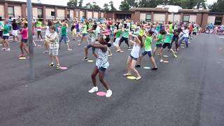 5th grade doing the Wobble dance at Curtis Community Day